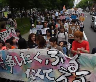 戦争が怖い」19歳女性が呼びかけたデモに700人