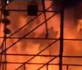 台湾で野外コンサート中に火災発生、約500人が負傷、死者が2人に