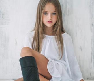 世界一の美少女「クリスティーナ・ビメノヴァ」ロシアの9歳の少女、世界的スーパーモデルに