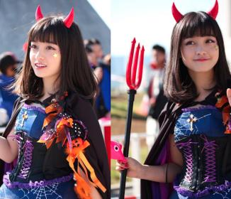 ハロウィンパレードに参加した橋本環奈ちゃんが可愛すぎるwwwこれが千年に一人の美少女か
