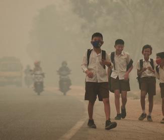インドネシアの煙害は「人道に対する罪」レベル