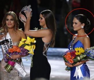 【悲報】 ミス・ユニバースで司会者が優勝者を誤発表!第2位のコロンビア代表からティアラをボッシュート『この様子はテレビで世界中に中継』