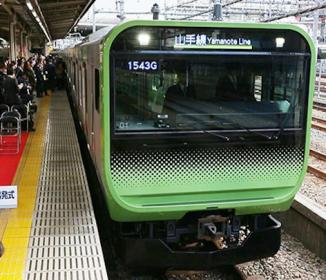 山手線「E235系」デビュー 13年ぶり新型車両