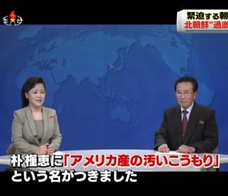 北朝鮮のニュースキャスターが意外にも口が悪い!