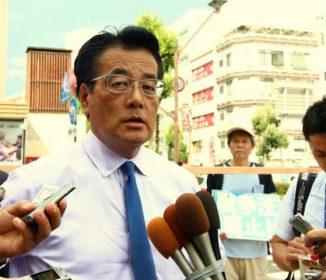 民進党・岡田克也が演説で国民に対して嘘をつく
