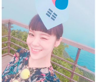 竹島に不法上陸した韓国のアイドルw