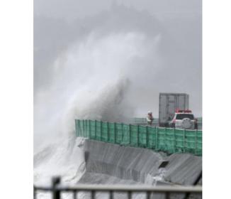 台風10号、東北上陸 大雨、土砂災害に警戒