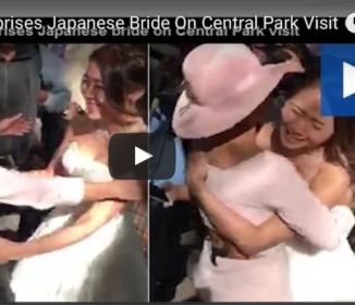 レディー・ガガ、なんと日本人カップルの結婚式にサプライズ登場! 「アイシテマス」と日本語で祝福し花嫁号泣