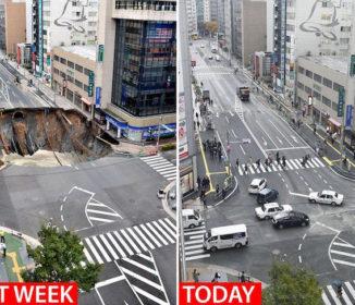 【博多】「巨大な穴を1週間で修復」…英米メディア驚嘆「これは日本人ですら素晴らしいと思う」