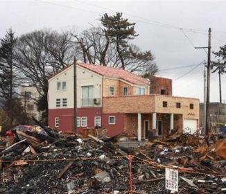 奇跡の木造住宅 周辺は焼失。1軒だけ焼けず…防災特注