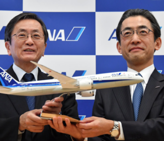 全日空  社長に平子氏「現場力回復が経営課題」