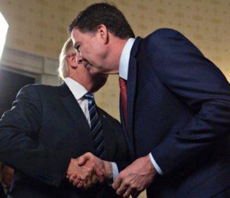 トランプ氏、前FBI長官をけん制 「会話テープないことを願うべき」
