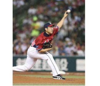 """西武・菊池 日本人左腕最速158キロ!""""1球降板危機""""から快投"""