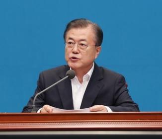 文在寅大統領「南北平和経済の実現時は一気に日本経済に追いつく」
