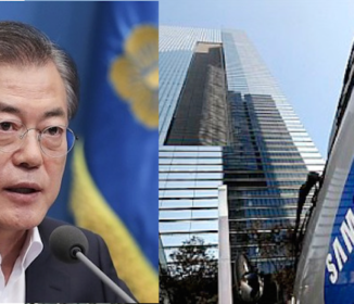 韓国・文在寅政権が「超孤立化」、サムスンが文在寅政権と距離を置き…