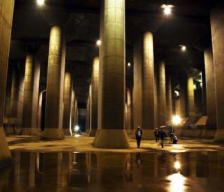 稼働続く「地下神殿」 台風19号で流れ込んだ中小河川の水を江戸川へ