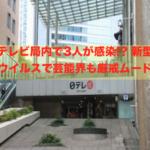 日本テレビ局、コロナ侵入!!3人感染!? <芸能界厳戒ムードに>