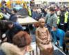 日本大使館前設置に難色=労働者像で慰安婦支援団体